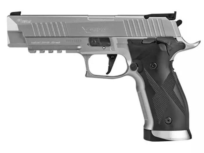 SIG Sauer X5 ASP Pellet Pistol, Silver