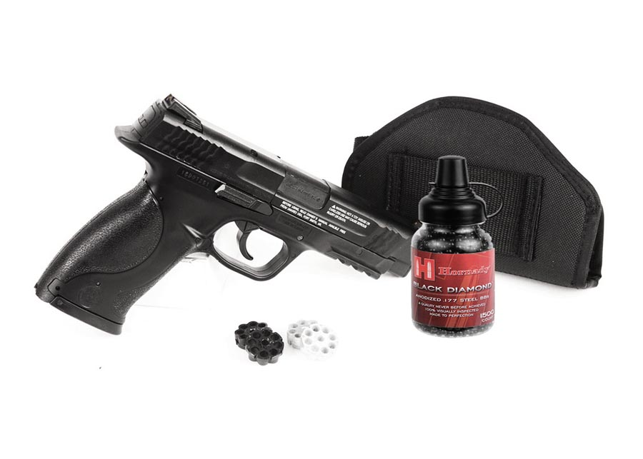 Smith & Wesson M&P 45 BB & Pellet Pistol, Black Ops Combo