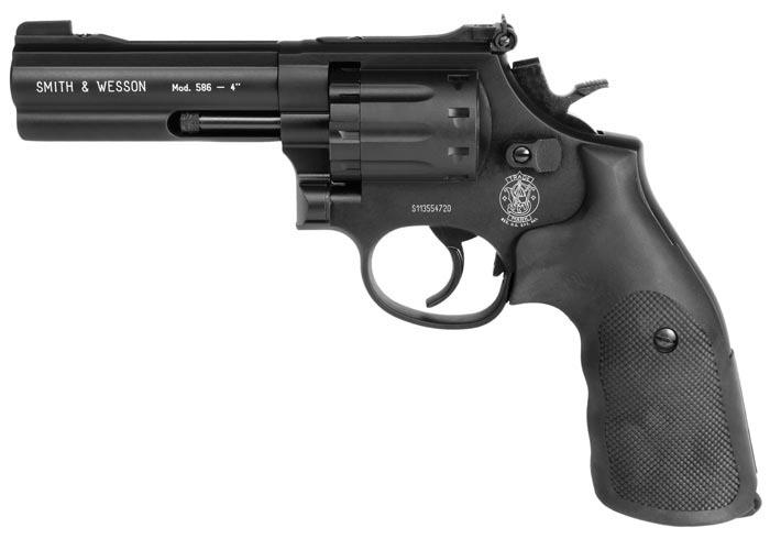 "Smith & Wesson Model 586 Pellet Revolver, 4"" Barrel"