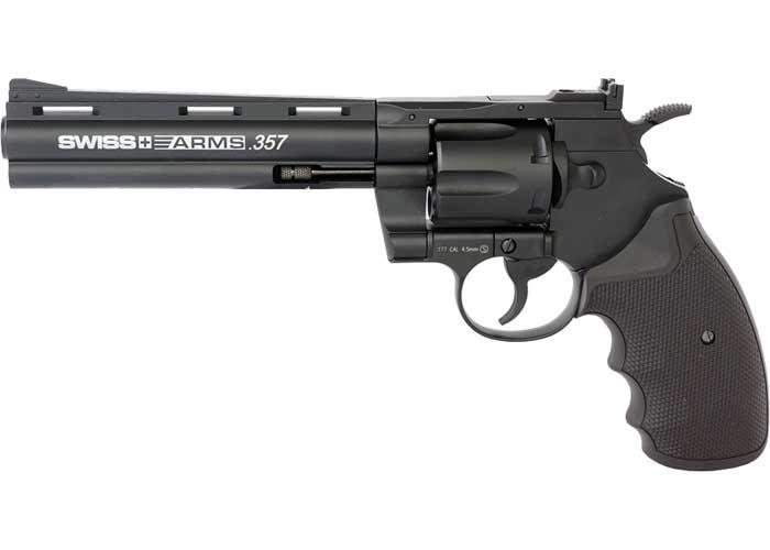 "Swiss Arms .357 BB Revolver, 6"" Barrel"