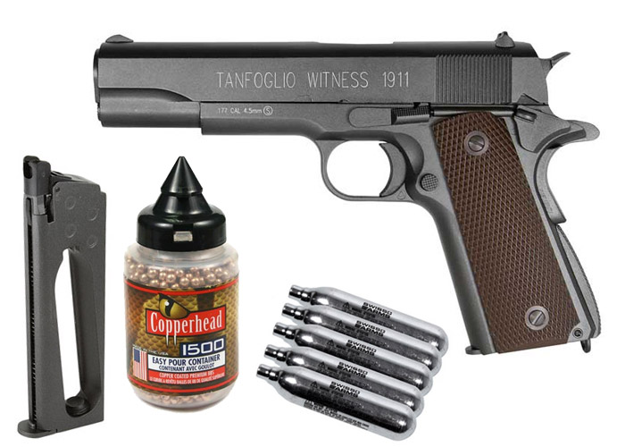 Tanfoglio Witness 1911 CO2 BB Pistol Kit