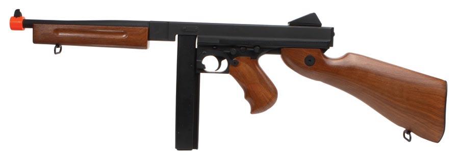 Cybergun Thompson M1A1 AEG Airsoft Submachine Gun