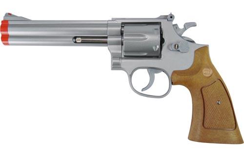 "TSD Sports Classic Silver 6"" Airsoft Revolver"
