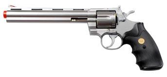 "TSD Sports Spring Silver 8"" Airsoft Revolver"