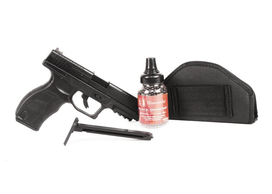Umarex 9XP BB Pistol, Black Ops Combo