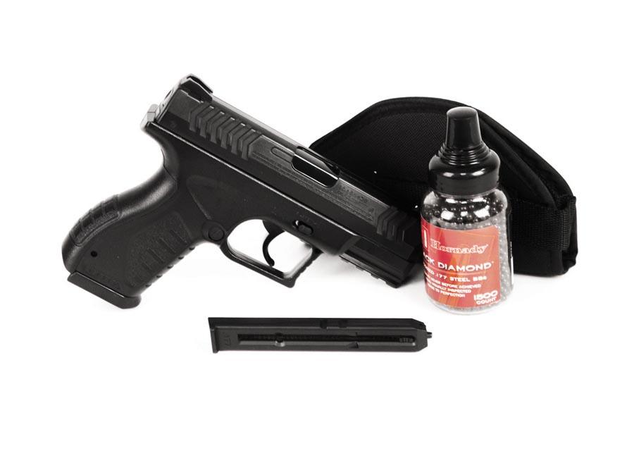Umarex XBG BB Pistol, Black Ops Combo