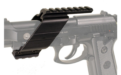 Universal Pistol Tactical Rail Mount