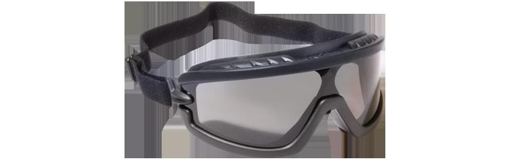 USMC Poly Carbonate Anti-Fog Safety Goggles - Black