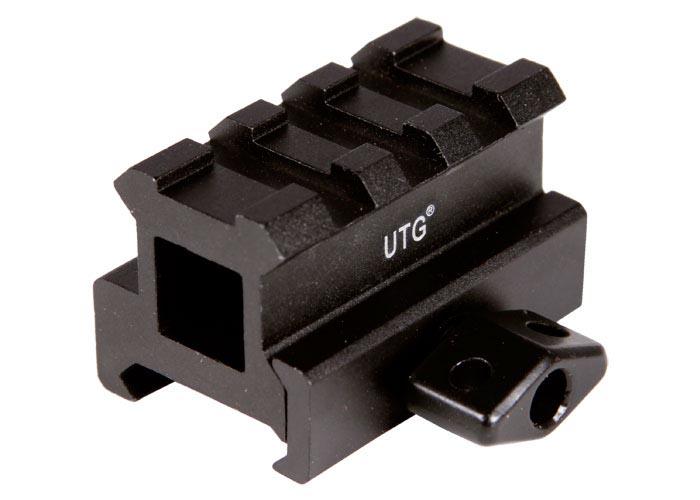 UTG 3-Slot Medium-Profile Compact Riser Mount