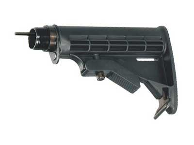 UTG AR15 6-Position Stock, Black