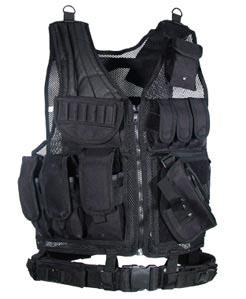 UTG Black Tactical Scenario Vest