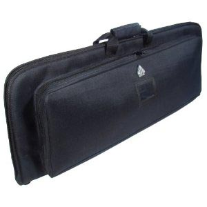 "UTG Covert Homeland Security Gun Case 34"", Dual Storage"