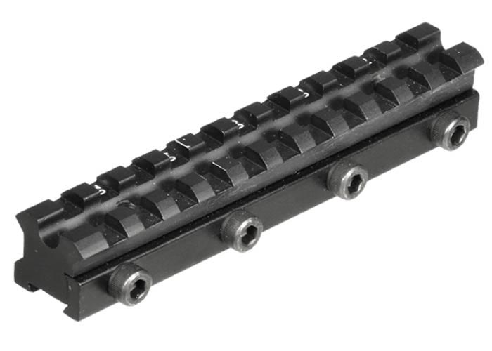 Utg Drooper Scope Rail 11mm Dovetail To Weaver Adapter Airgun Depot