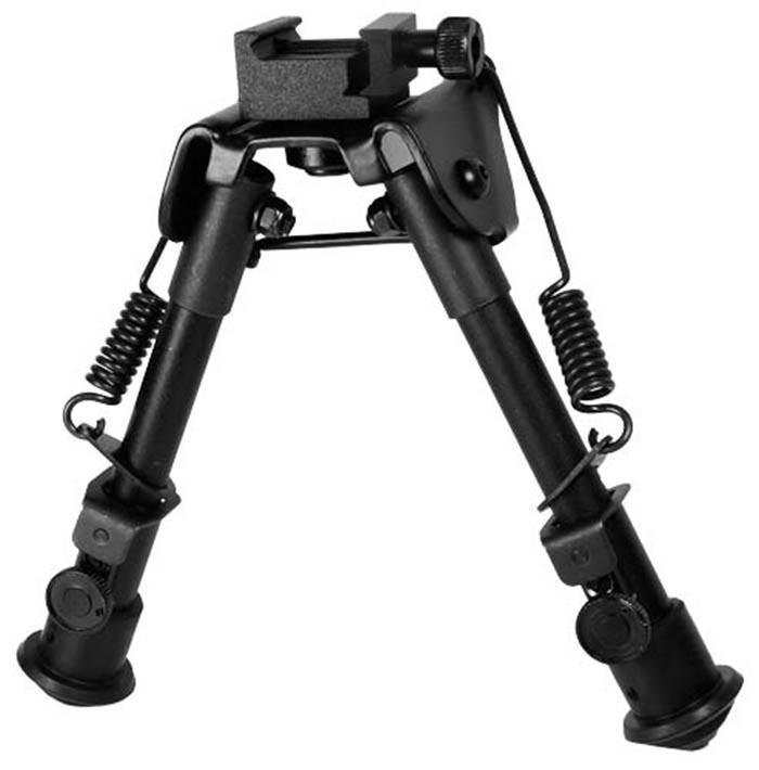 UTG Tactical Bipod, Picatinny & Swivel Stud Mounts