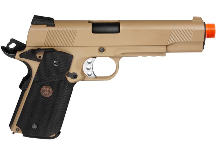 WE 1911 MEU Desert Airsoft Pistol