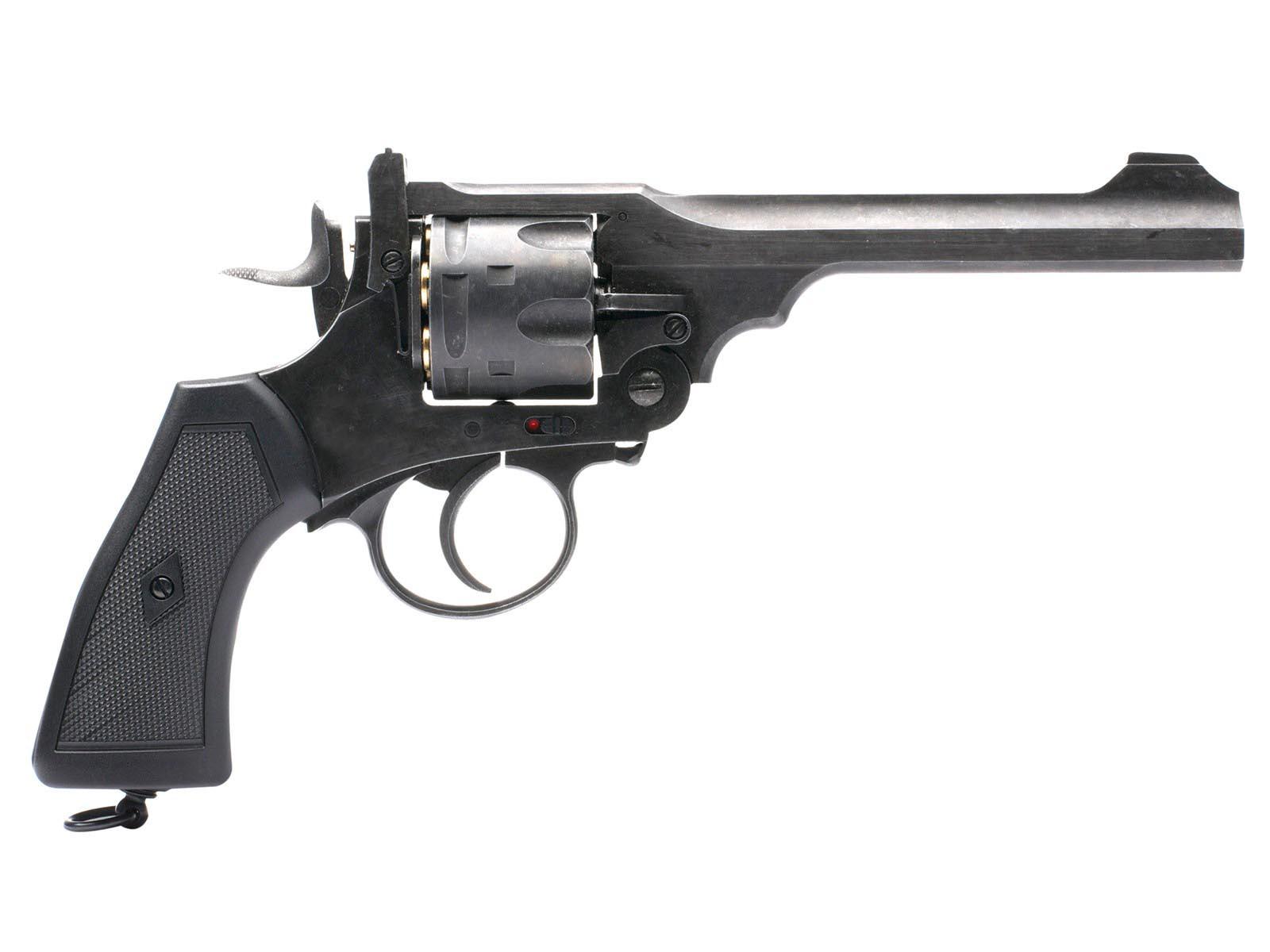 Webley MKVI Pellet Revolver, Battlefield Finish