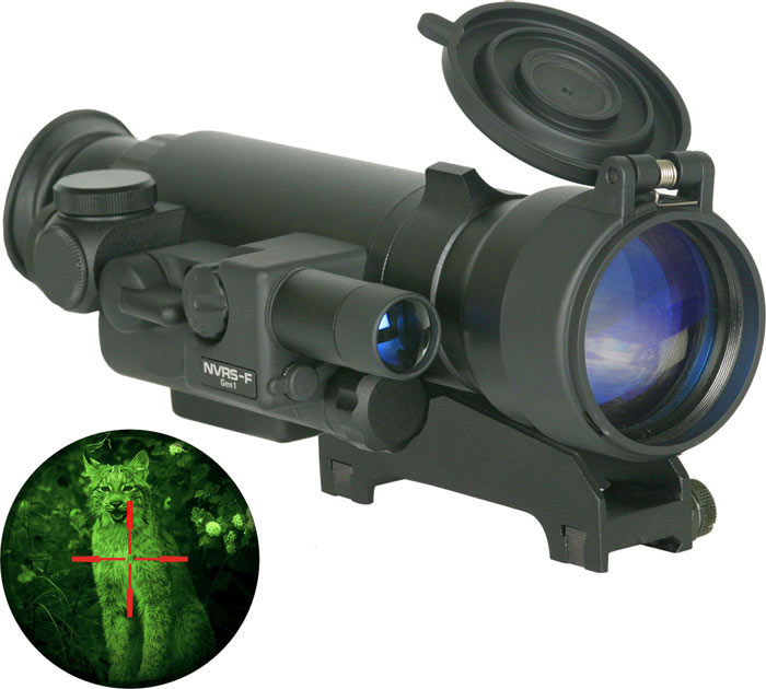 Yukon NVRS Tactical 2.5x50, Night Vision