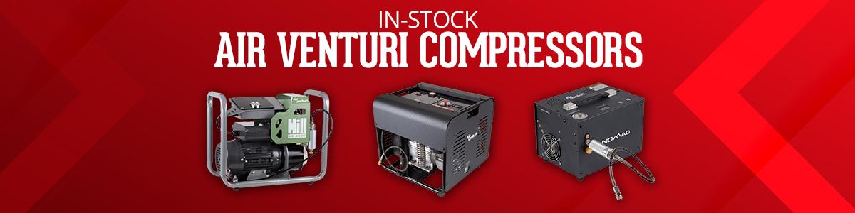 In-Stock Airgun Compressors from Air Venturi