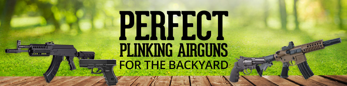 Perfect Plinking Airguns for the Backyard