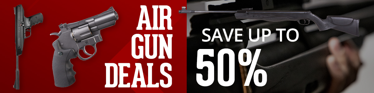Save Up To 50% Off Airguns