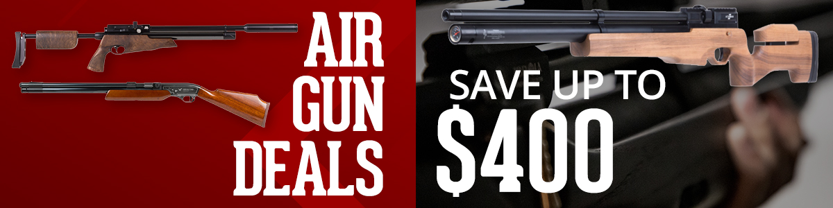 Save Up To $400 Off Airguns