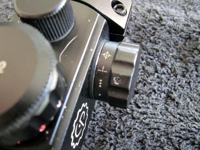 Benjamin Woods Walker - Sight Closeup