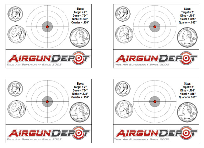 Size Reference Target - Printable Target