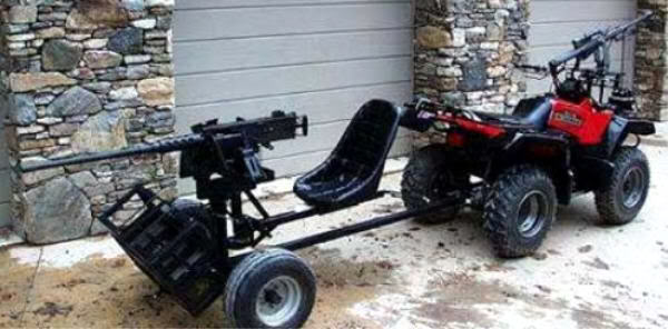 Redneck Patrol Car